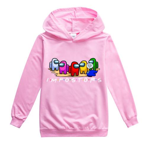 Among US Trendy Kids Hoodie Long Sleeve Fall Sweatshirt