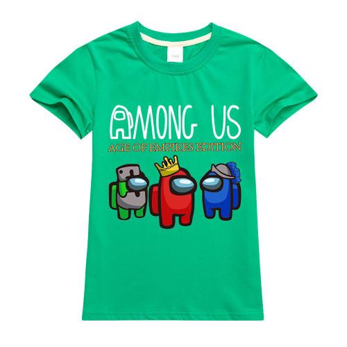 Among US Kids Short Sleeve 100% Cotton T-shirt