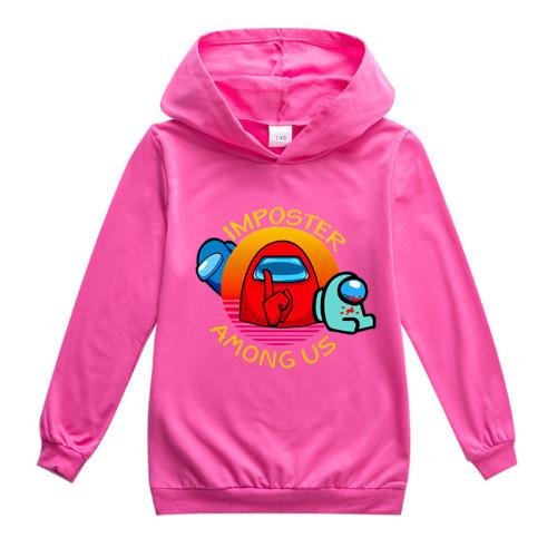 Kids Girls Boys Fall Sweatshirt Long Sleeve Hoodie Cotton