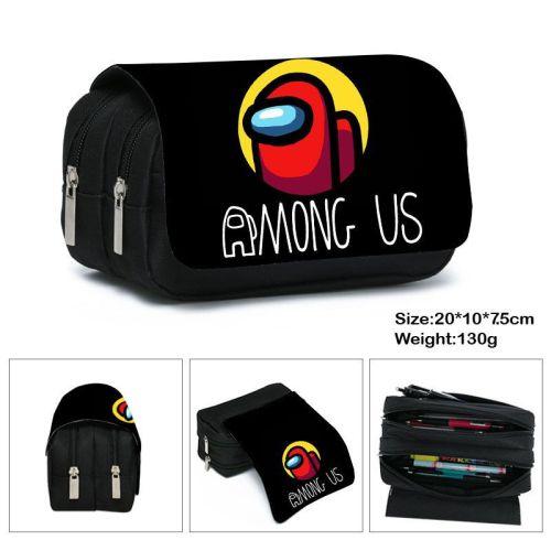 Among US Kids Unisex Shcool Pencil Case Bag