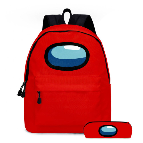 Among US Students Girls Boys School Backpack Bookbag With Pencil Case