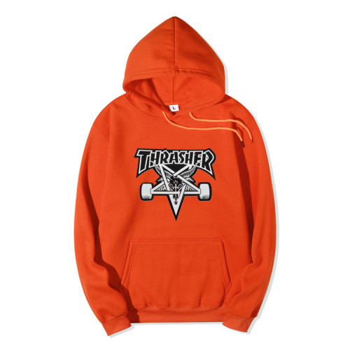 Thrasher Flame Popular Hoodie Unisex Long Sleeves Hoodie