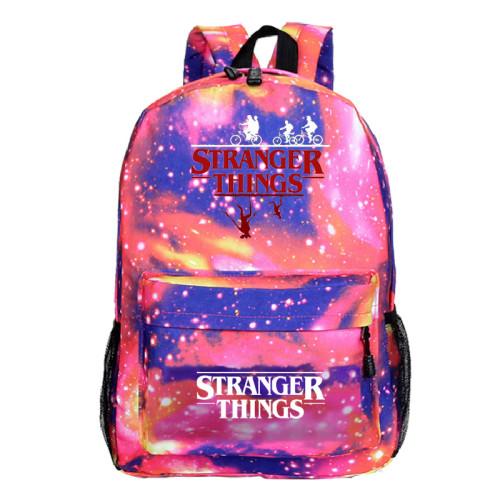 Stranger Things Popular Casual Cross Shoulder Bag Students Backpack