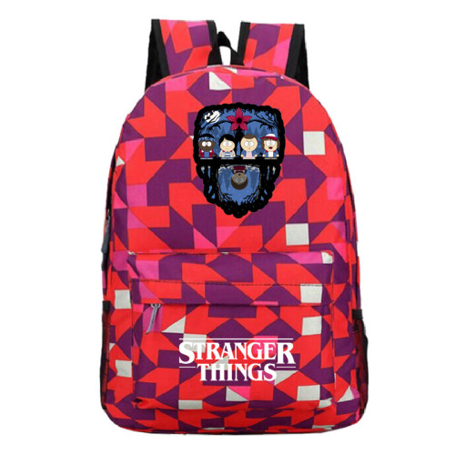 Stranger Things Fashion Backpack Computer Backpack Students School Bag