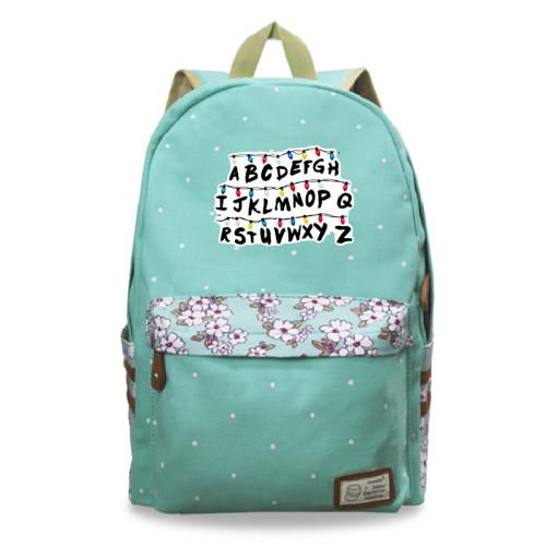 Stranger Things Polular Casual School Book Bag Students Backpack