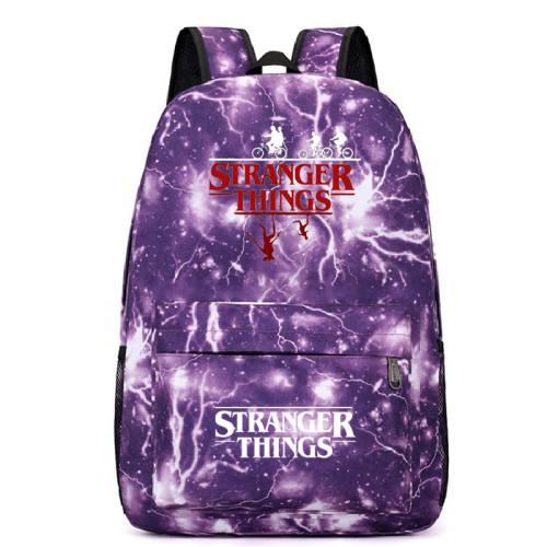 Stranger Things Trendy School Book Bag Casual Cross Shoulder Bag
