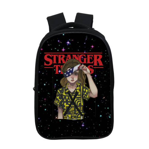 Stranger Things Fashion Casual 3-D Print School Book Bag Students Backpack