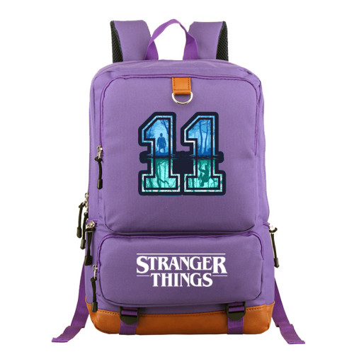 Stranger Things School Book Bag Computer Backpack Big Capacity Rucksack Travel Bag