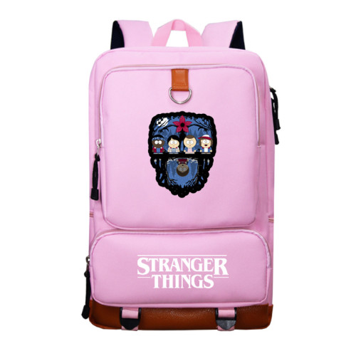 Stranger Things School Book Bag Big Capacity Rucksack Travel Bag