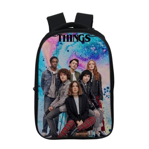Stranger Things Fashion Cross Shoulder Bag School Book Bag