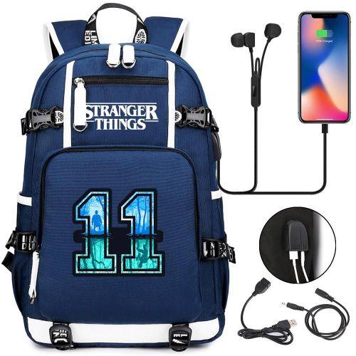 Stranger Things Popular School Book Bag Big Capacity Rucksack Travel Bag