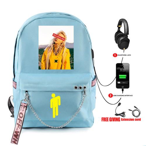 Billie Eilish Cross Shoulder Bag Youth Adults Day Bag