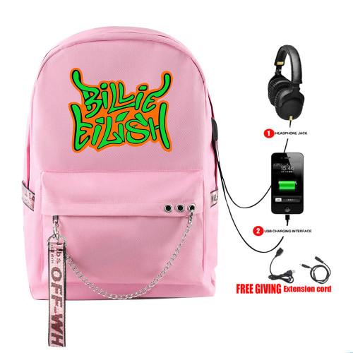Billie Eilish Trendy Cross Shoulder Bag Book Bag