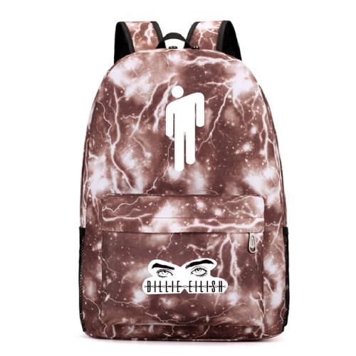 Billie Eilish Casual Backpack Travel Backpack Book Bag