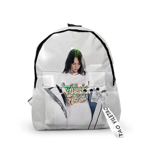 Billie Eilish Print Backpack Unisex Backpack Day Bag