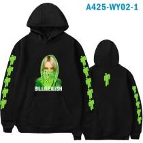 Billie Eilish Winter Hoodie Fashion Unisex Hoodie