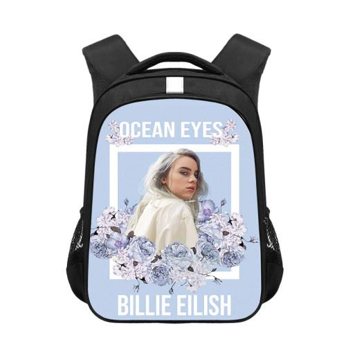 Billie Eilish Trendy Backpack Travel Bag Students School Bag