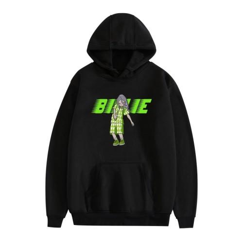 Billie Eilish Billie Hoodie Unisex Fashion Pullover Sweatshirt