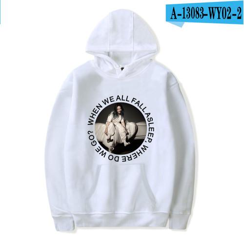 Billie Eilish Fashion Hoodie Unisex Pullover Sweatshirt