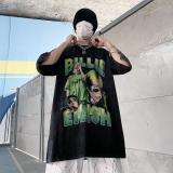 Billie Eilish Summer Hip Hop Unisex Short-sleeves T-shirt