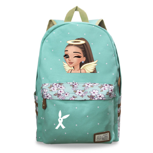 Ariana Grande Fashion Cross Shoulder Bag School Book Bag Students Backpack