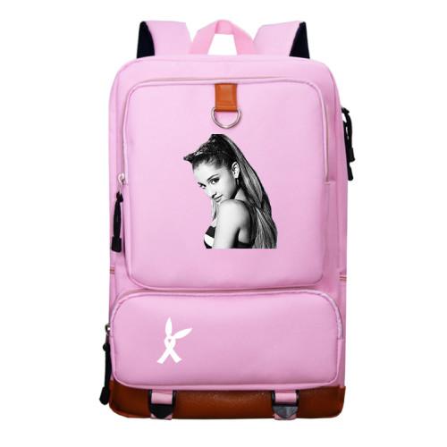 Ariana Grande School Book Bag Big Capacity Rucksack Travel Bag