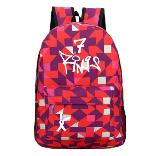 Ariana Grande Polular Casual School Book Bag Students Backpack
