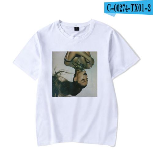 Ariana Grande Fashion Casual T-shirt Short Sleeves Unisex T-shirt