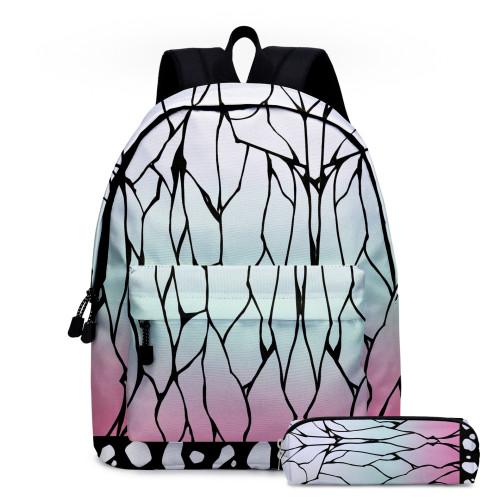 Demon Slayer Backpack Anime Merch Students School Backpack Bookbag Youth Unisex Travel Bag