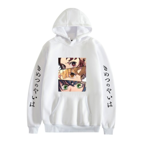Demon Slayer Anime Merch Unisex Hoodie for Youth Adults Comfort Long Sleeve Pullover Hooded Sweatshirt