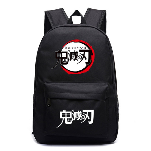Demon Slayer Galaxy Color Backpack Unisex Youth School Backpack Bookbag Travel Bag Lightweight