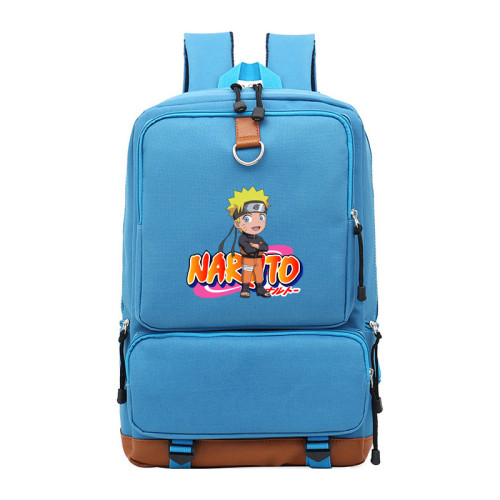 Anime Naruto Students Backpack Big Capacity School Backpack Bookbag Travel Bag