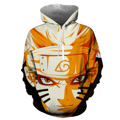 Anime Naruto 3-D Hoodie Adults Youth Unisex Hooded Sweatshirt Long Sleeve Pullover Fall Winter Outfit