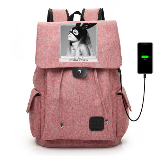Ariana Grande Fashion Backpack Youth Adults Day Bag Students Backpack