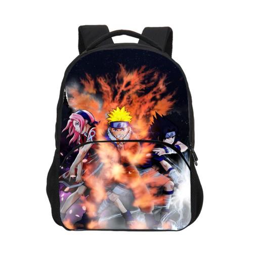 Anime Naruto 3-D Backpack School Backpack Students Backpacks Bookbag