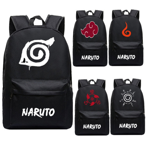 Anime Naruto Light Weight Backpack Students School Backpack Book Bag