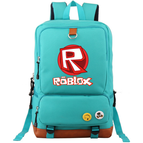 Roblox Big Capacity Rucksack Travel Backpack Unisex Shcool Backpack Bookbage Computer Backpack