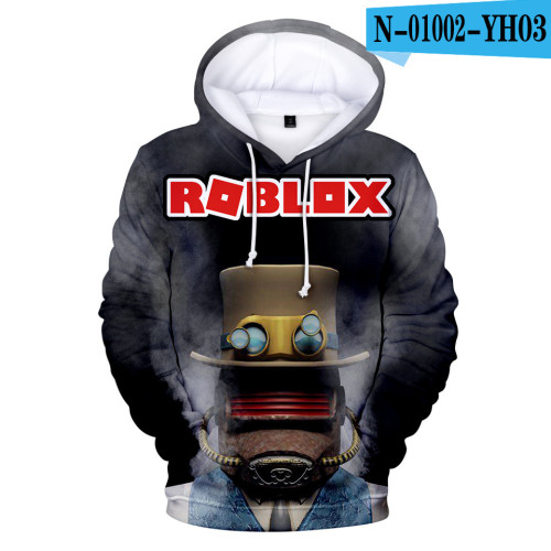 Roblox Youth Adults Hoodie Unisex Hooded Long Sleeve Sweatshirt Warm Fall Winter Outfit