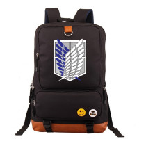 Anime Attack On Titan Students Backpack Big Capacity Lightweigt Travel Backpack Compuert Backpack