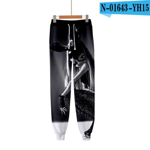 Ariana Grande Trendy 3-D Print Unisex Jogger Pants