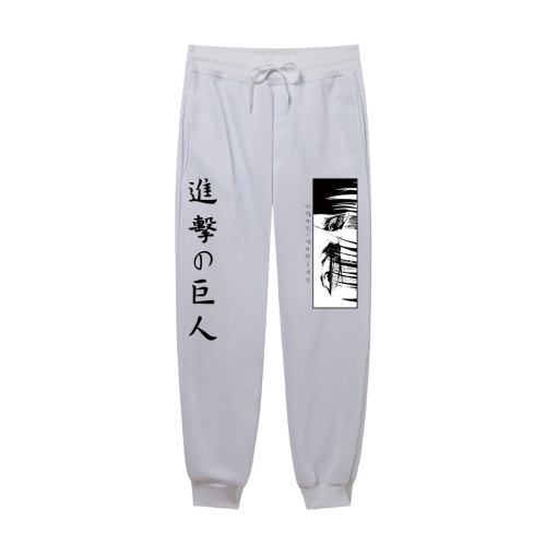 Anime Attack On Titan Sweatpants Unisex Casual Comfort Jogger Panst With Adjustable Drawstring