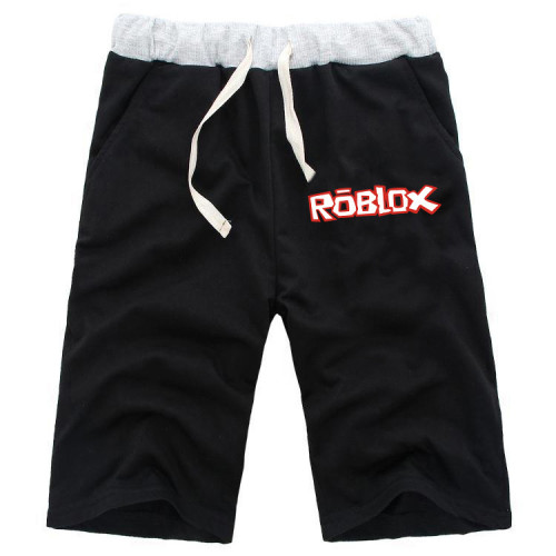 Roblox Youth Shorts Casual Cotton Shorts With Adjustable Drawstring