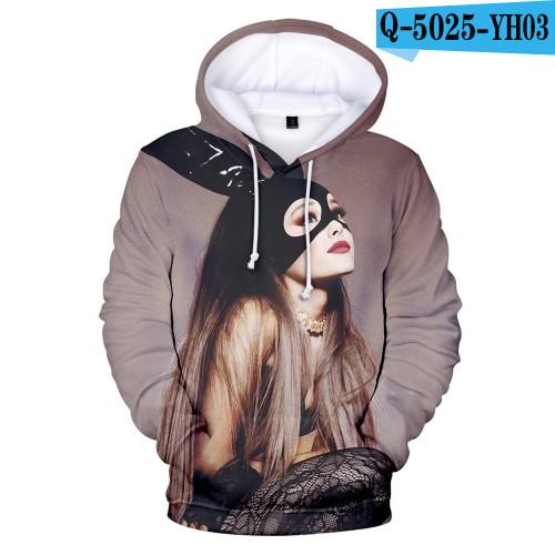 Ariana Grande Trendy Loose Hoodie Long Sleeves Unisex Hoodie