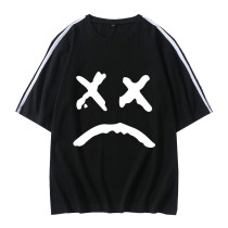 Lil Peep T-shirt Casual Oversize Hip Hop Black Tee Short Sleeve Summer Trendy Tops