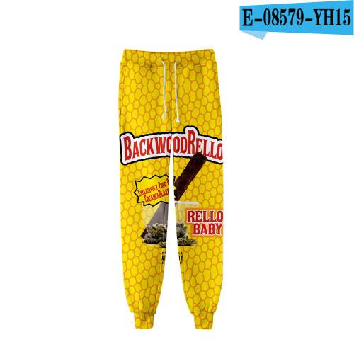 2021 Backwoods 3-D Fashion Casual Sweatpants Unisex Pants