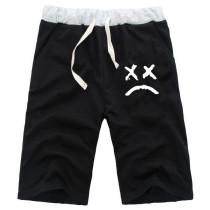 Lil Peep Cotton Shorts Summer Shorts Beach Shorts With Adjustable Drawstring