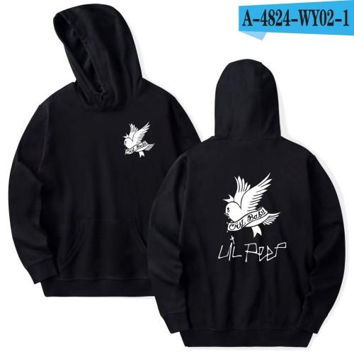 Lil Peep Crybaby Hoodie Unisex Hooded Sweatshirt Street Style Casual Tops