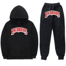Backwoods Fashion Long Sleeves Hoodie and Sweatpant 2 Pieces set