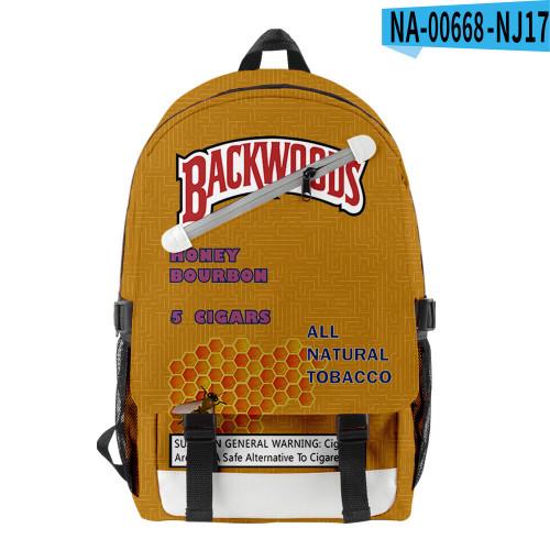Backwoods Students Backpack School Book Bag Big Capacity Rucksack Travel Bag
