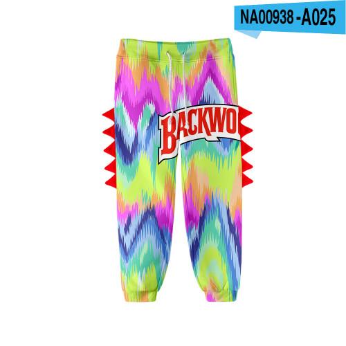 Backwoods Kids Fashion Casual Sweatpants Girls Boys Pants